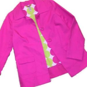 *3/$20*Bright Pink Old Navy Rain Jacket Size Small